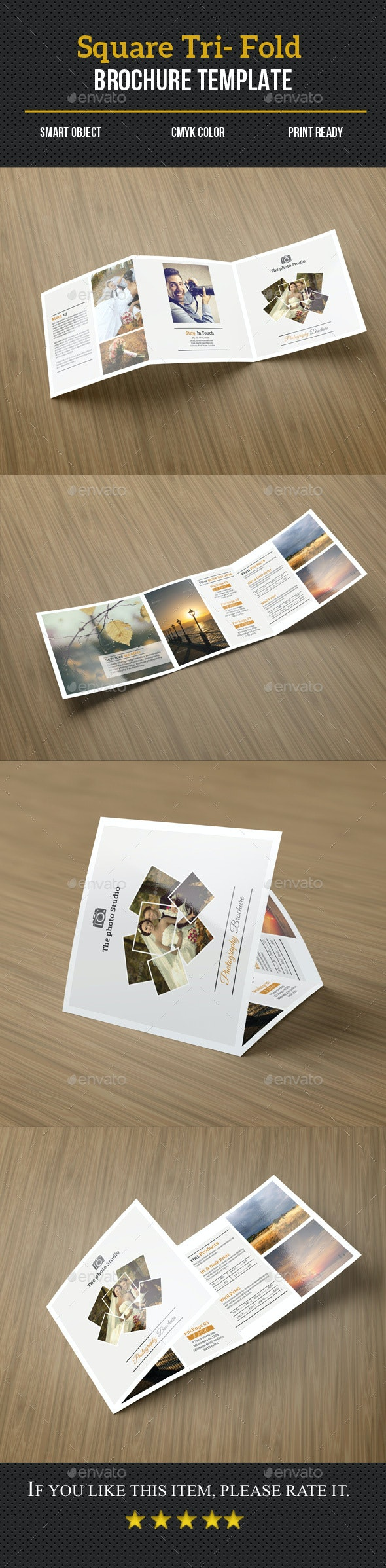 Photography Pricing List Brochure - Corporate Brochures