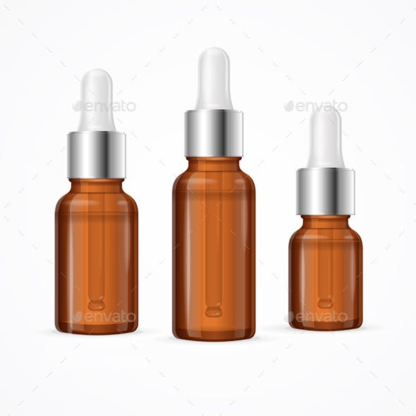 Essential Oil Bottle Package Set