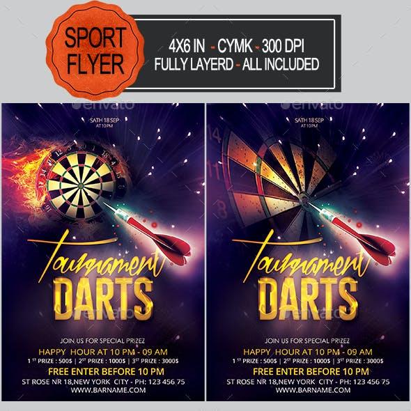 Darts Flyer