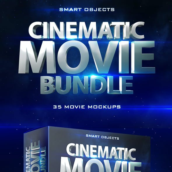 Cinematic Movie Mockups Bundle