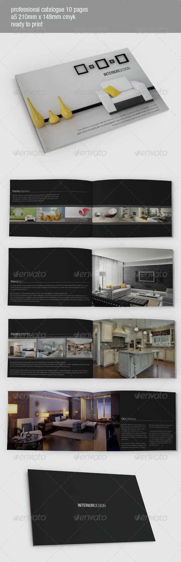 Interior Design Catalog - Corporate Brochures