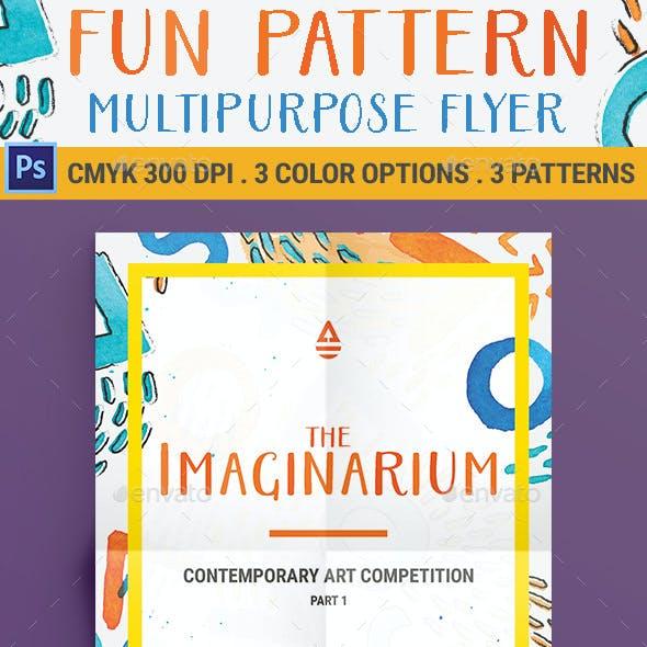 Fun Pattern Multipurpose Flyer