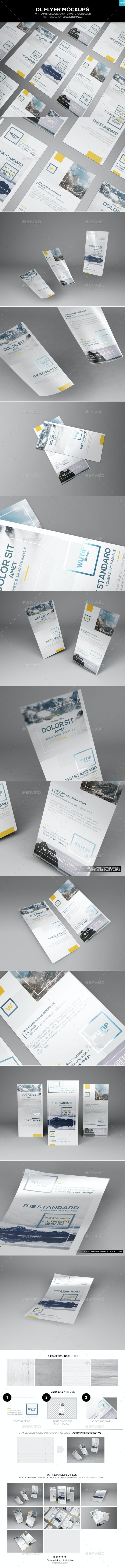 DL Flyer Mockups - Flyers Print
