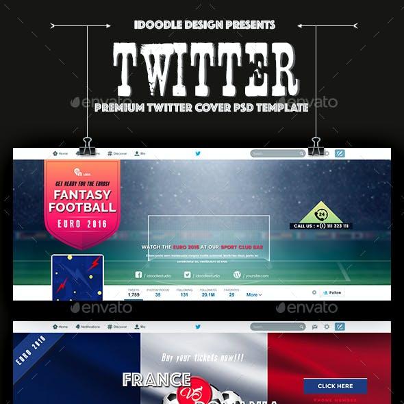 Soccer Twitter Headers - 09 PSD