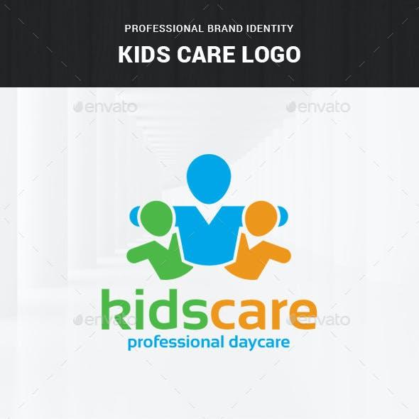 Kids Care Logo Template