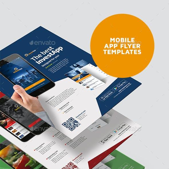Mobile App Flyer Template Vol.01