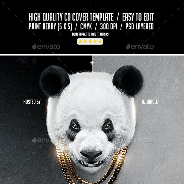 Last French Panda | Urban Mixtape Album CD Cover Template