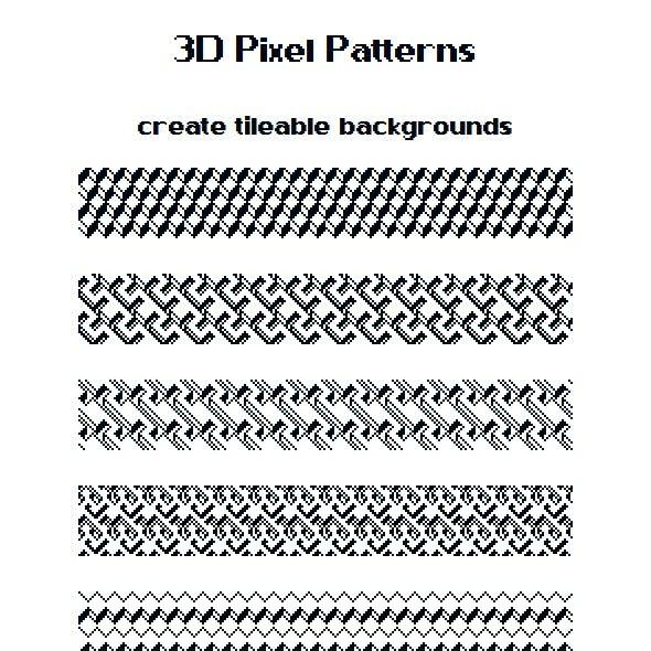 3D Pixel Patterns