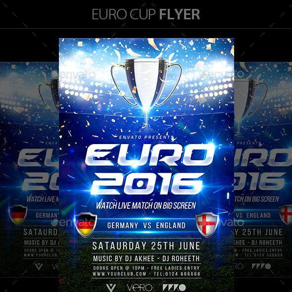 Euro Cup Flyer