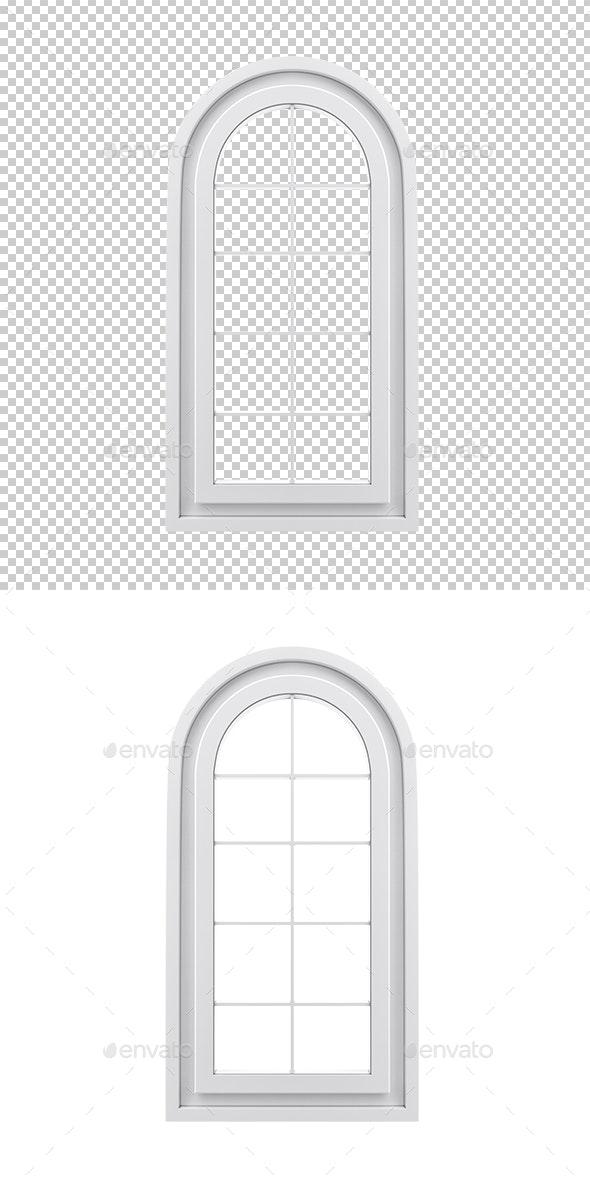 Window - Objects 3D Renders