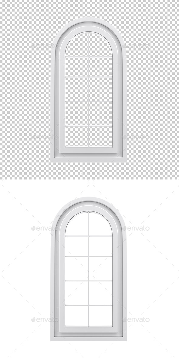 Window - Objects 3D Renders