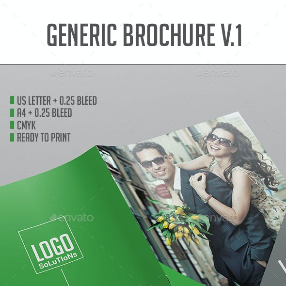 Brochure Template Vol.1