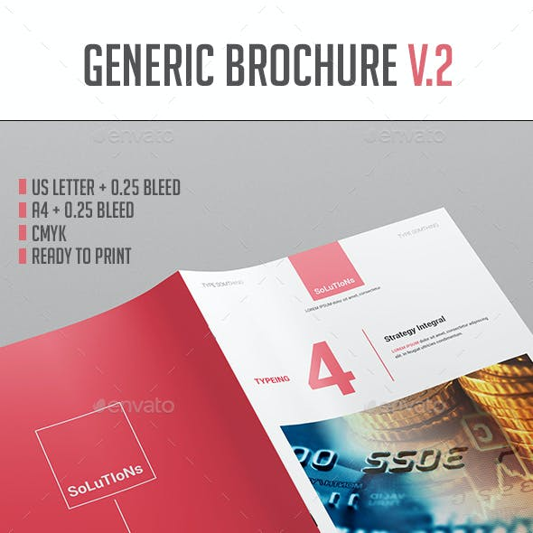 Brochure Template Vol.2