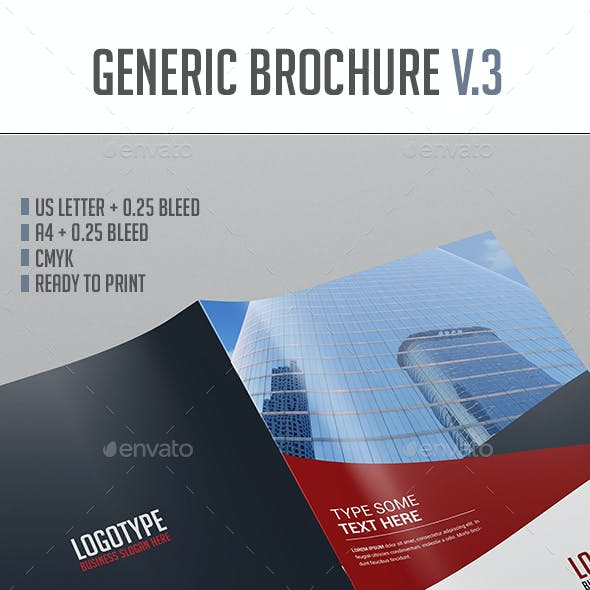 Brochure Template Vol.3
