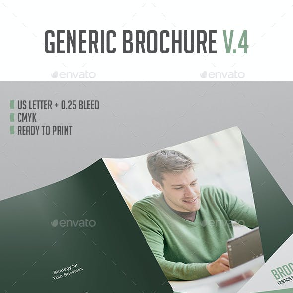 Brochure Template Vol.4