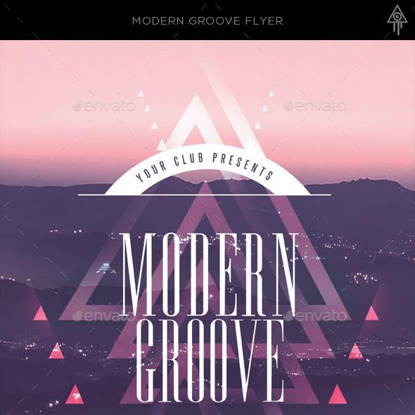 Modern Groove Flyer