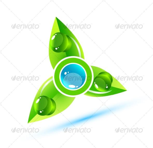 Environmental symbol - Decorative Symbols Decorative