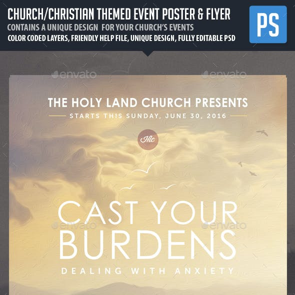 Church/Christian Themed Event Poster