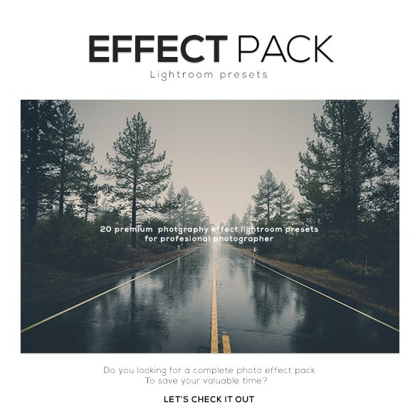 Effect Pack Lightroom Presets