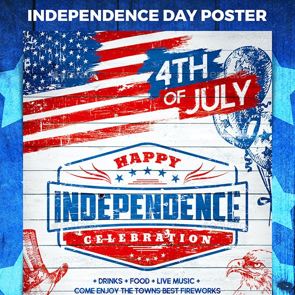 Independence Day Party Poster vol.2