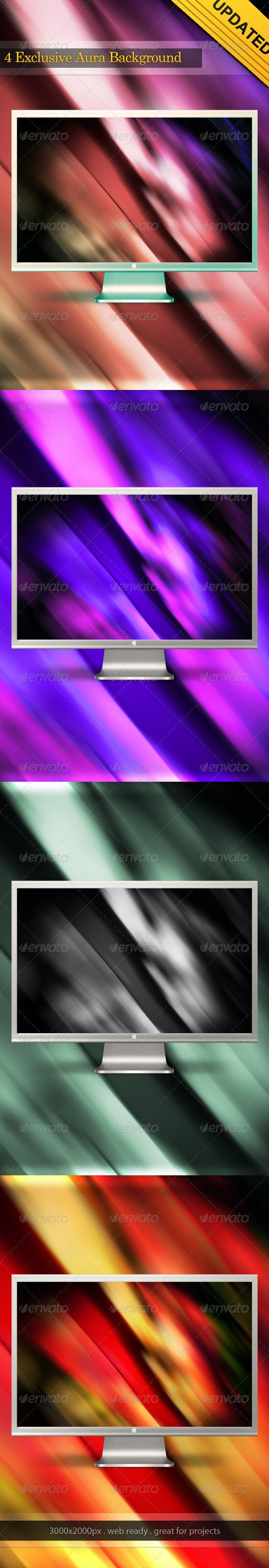 Rainbow Aura  Background Hi-Res - Abstract Backgrounds