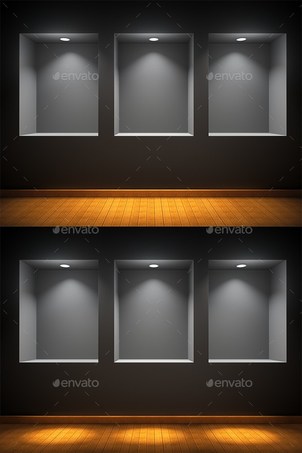 Art Gallery - 3D Backgrounds