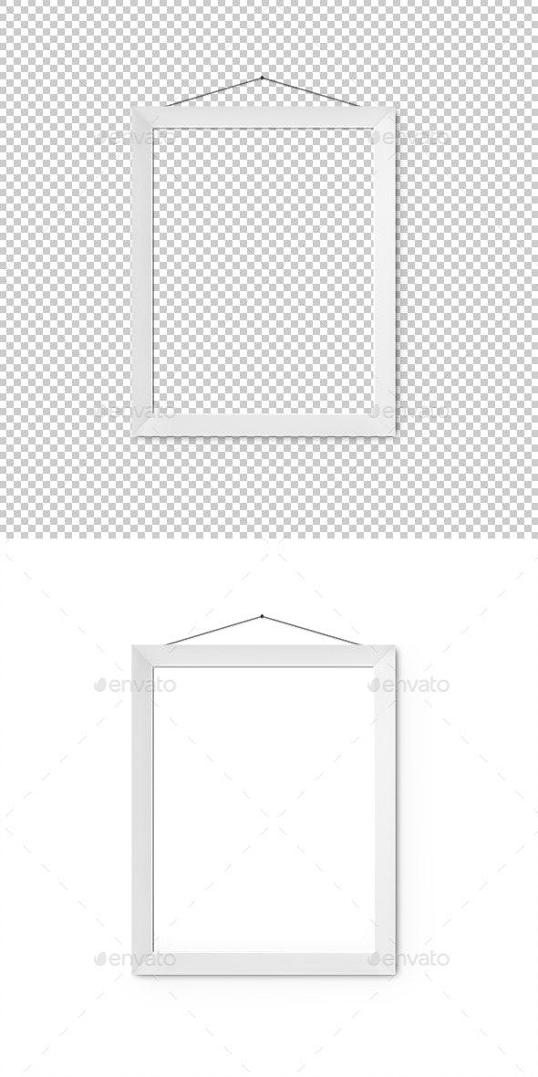 Blank Frame - Objects 3D Renders