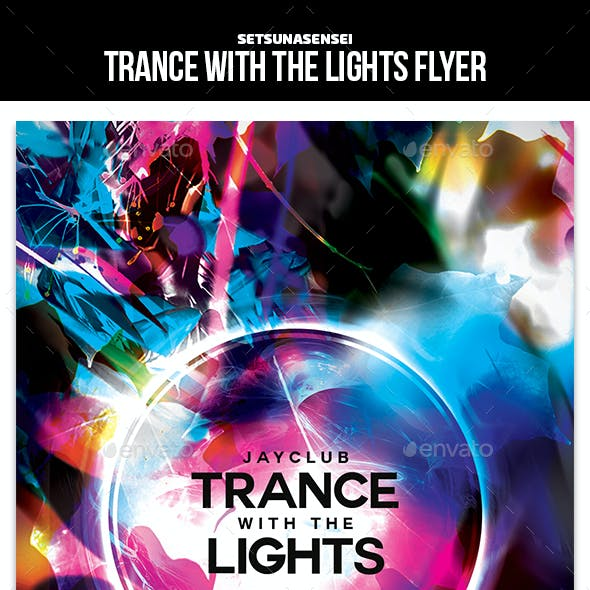Trance with the Lights Flyer