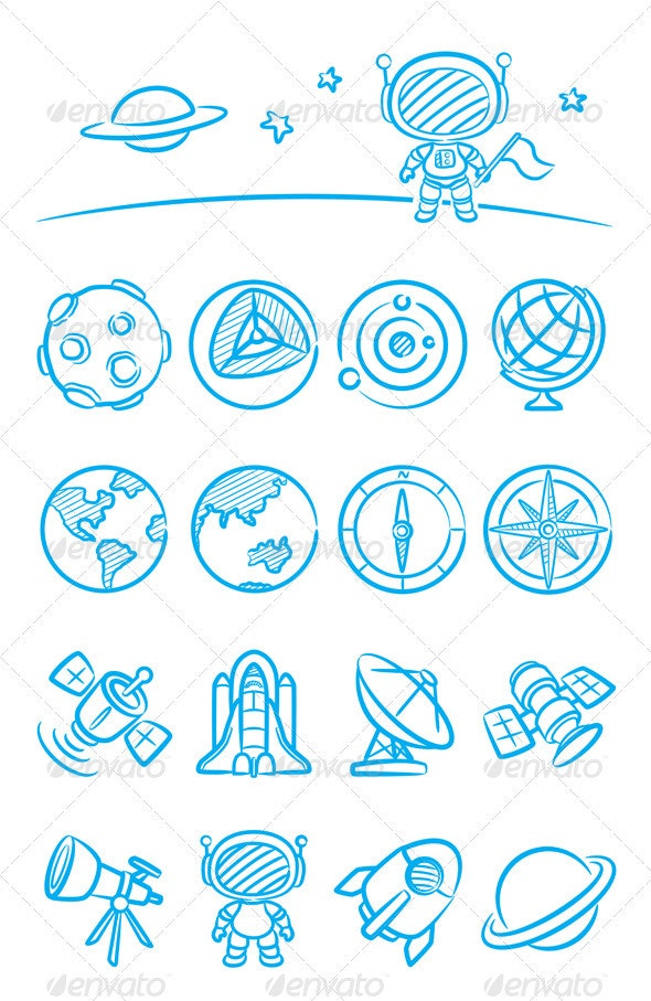 Universe - Technology Icons