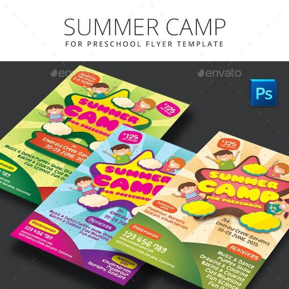 Summer Camp for Preschool