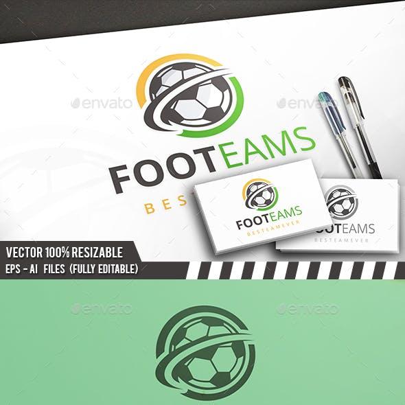 Football Modern Logo