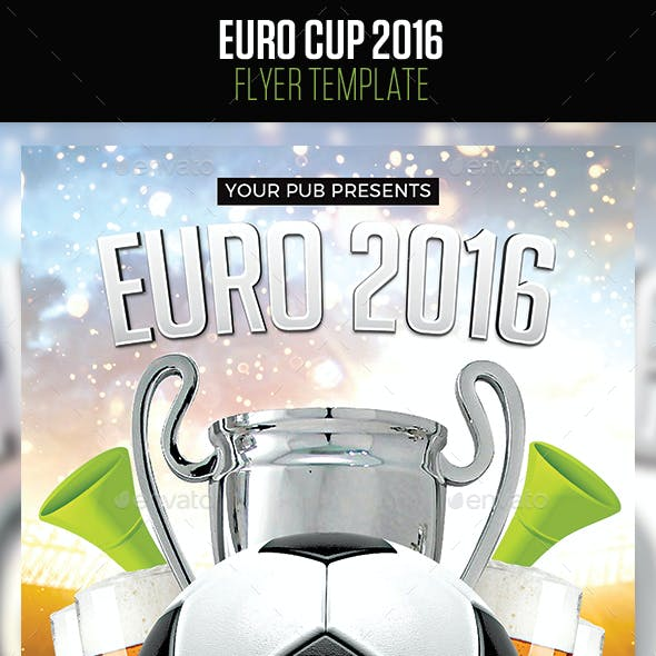 Euro Cup Flyer 2016