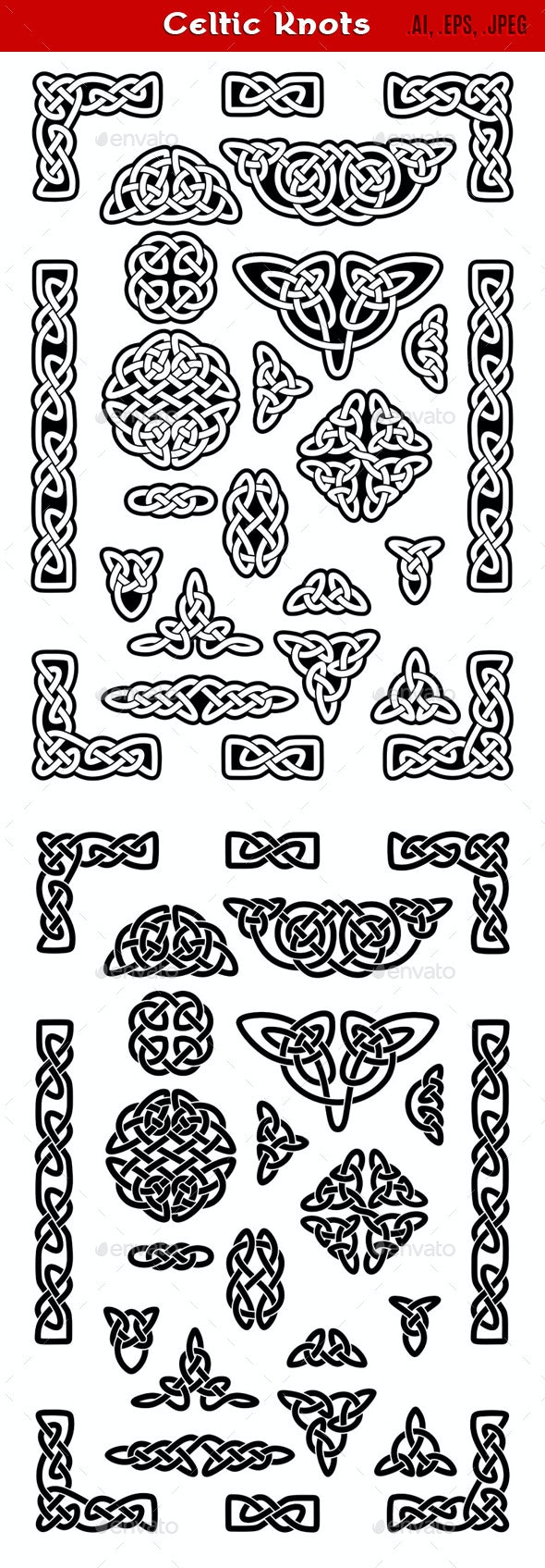 Celtic Knots - Decorative Symbols Decorative