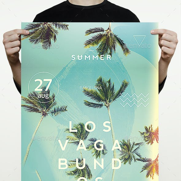 Sun & Palms Flyer