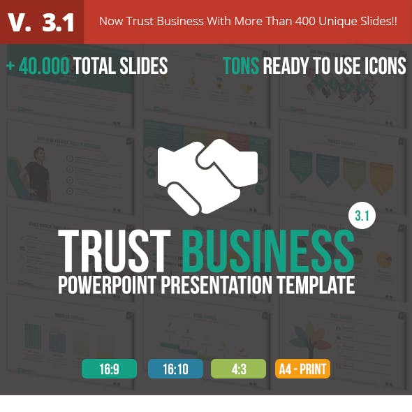 Trust Business PowerPoint Presentation Template