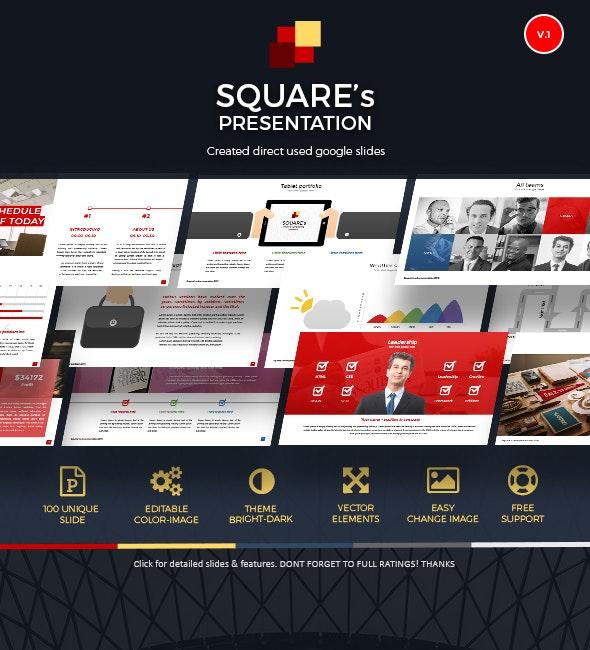 Google Slide Online Presentation Template - Google Slides Presentation Templates