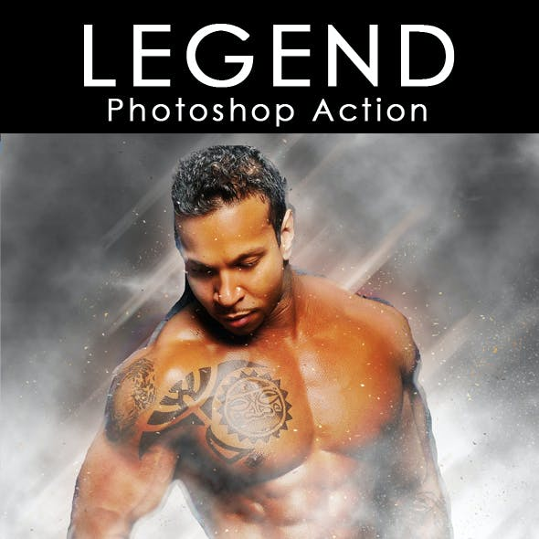 Legend Photoshop Action