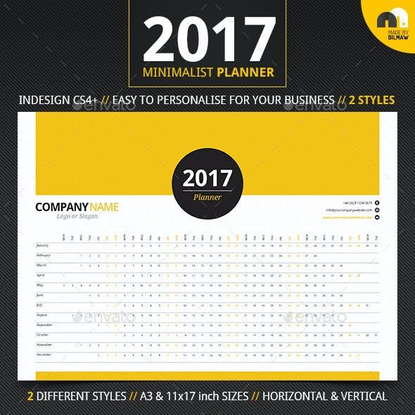 Minimalist Year Planner
