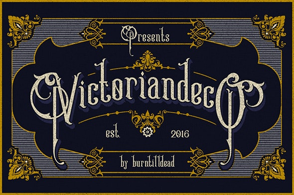 Victoriandeco - Serif Fonts