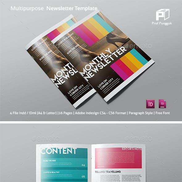 Modern Colorful Newsletter Vol. 3