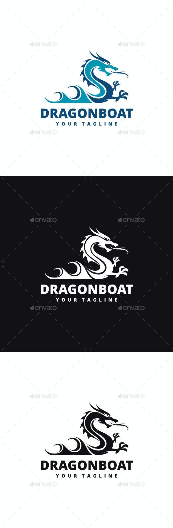 Dragon Boat - Animals Logo Templates
