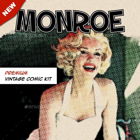Monroe - Vintage Comic Kit