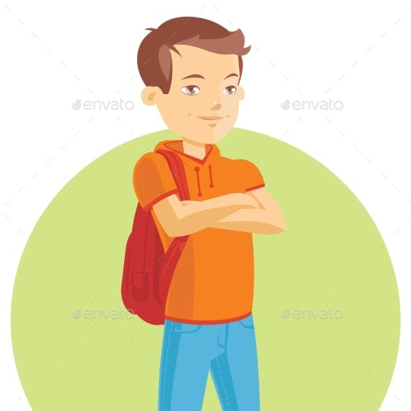 Illustration of a Teenage Boy