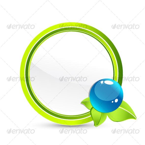 Abstract Eco symbol