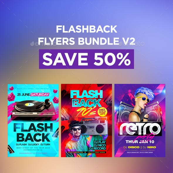 Flashback Flyers Bundle V2