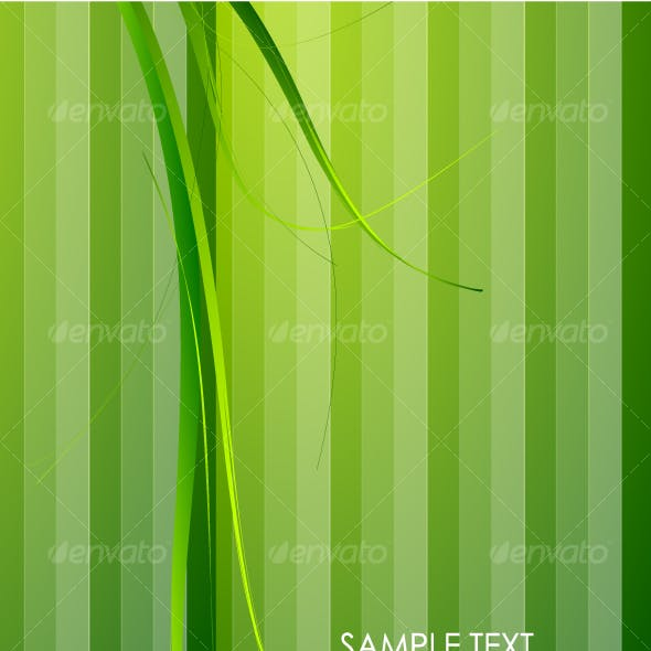 Green grass and green stripes. Background