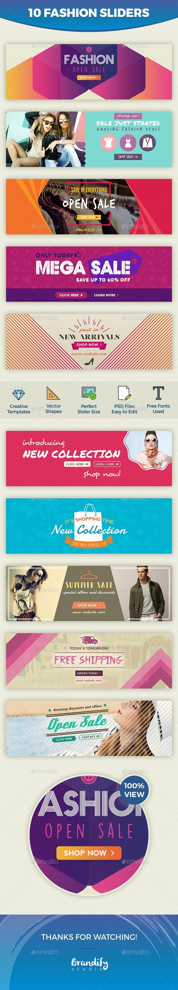 Fashion Slider - Sliders & Features Web Elements
