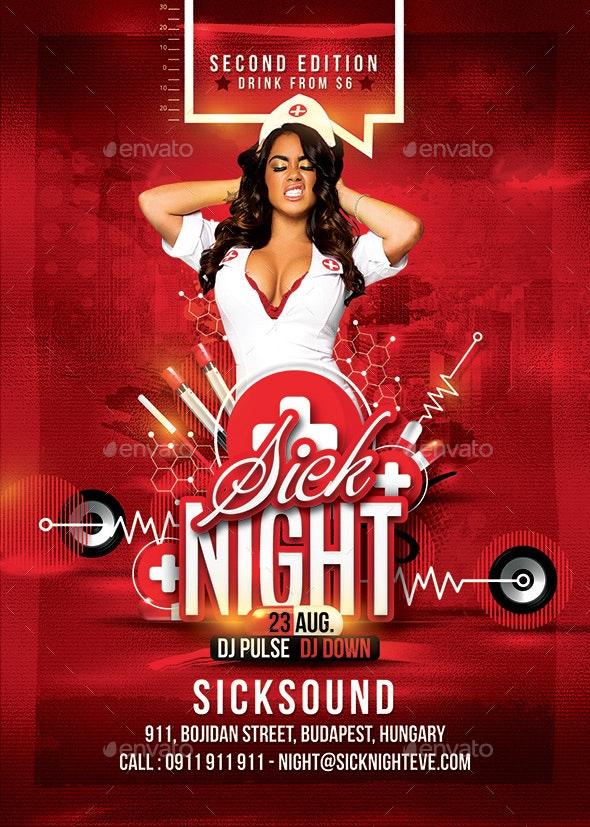 Sick Nurse Night - Clubs & Parties Events