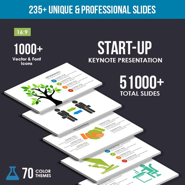 Start-up Keynote Template