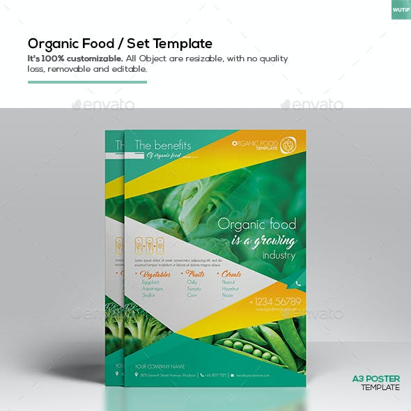Organic Food/ Set Template